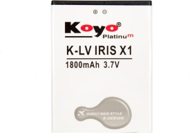 Koyo 1800mAh Battery (For LAVA IRIS X1)