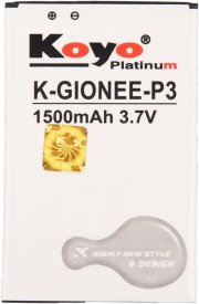 Koyo 1500mAh Battery (For Gionee P3)