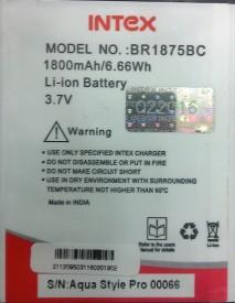 Intex BR1875BC 1800mAh Battery