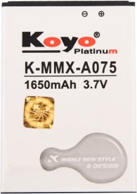 Koyo 1650mAh Battery (For Micromax Bolt A075)