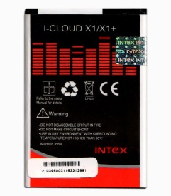 Intex 1250mAh Battery (For Intex Cloud X1/X1 )