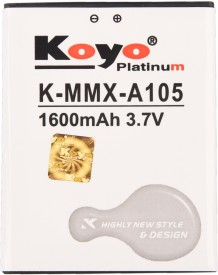 Koyo 1600mAh Battery (For Micromax A105)