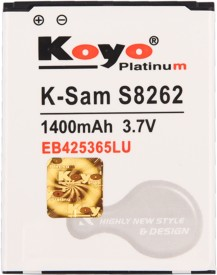 Koyo 1400mAh Battery (For Samsung S8262)