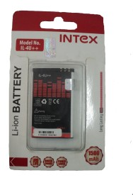 Intex 1500mAh Battery (For Nokia 4U Plus Plus)
