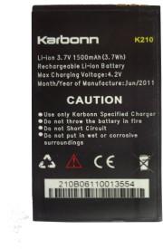 Karbonn K210 battery