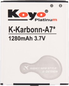 Koyo 1280mAh Battery (For Karbonn A7 Star)