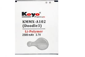 Koyo 2500mAh Battery (For Micromax A102 Doodle3)
