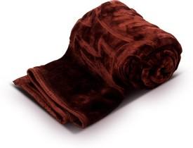 PAG Plain Single Blanket Pag Brown