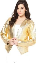 Vero Moda Solid Single Breasted Casual Women's Blazer(Gold)