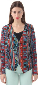Vero Moda Printed Single Breasted Casual Women's Blazer(Multicolor)