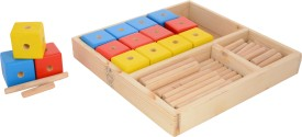 Skillofun Construction Set - Spokes & Cubes