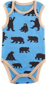 Bio Kid Grapics designer Baby Girl's Bodysuit