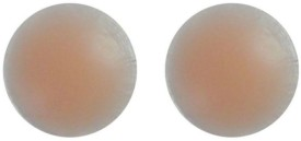 Sizzlacious Nipple Cover Silicone Peel and Stick Bra Petals(Beige Pack of 2)