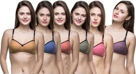 Docare Women's Full Coverage Multicolor Bra
