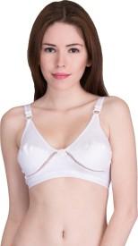 UR Image Women's Full Coverage White Bra