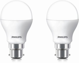 9 W LED cool daylight Bulb B22 White (pack of 2)
