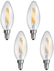 Imperial 16165 2W E27 LED Filament Bulb (Yellow, Pack Of 4)