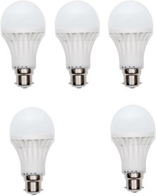 Enew 7W 400 lumens Cool Day Ligh LED Bulb (Pack Of 5)