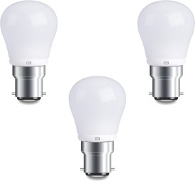 4W Cool White LED Bulbs (Pack Of 3)