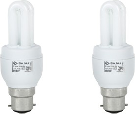 Retrofit Miniz 5 Watt CFL Bulb (Warm White,Pack of 2 )