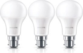 Philips 12W B22 Steller Bright LED Bulb (White, Pack of 3)