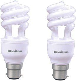 20 W CFL Spiral Leon Cool Bulb (Pack of 2)