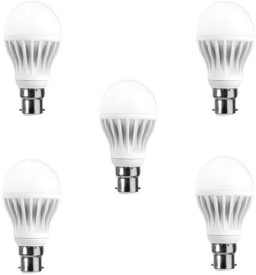 HPL 12 W LED Bulb (White, Pack of 5)