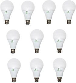 Green Home Elite Series 3W B22 LED Bulb (White, Pack of 10)