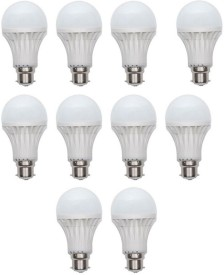 Ave 15W LED Bulb (White, Pack of 10)