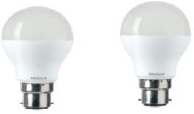 7W LED Bulbs (White, Pack of 2)