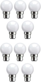 0.5W White LED Bulbs (Pack Of 10)