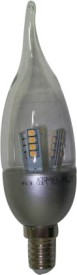 Samson 4W E27 Candle Yellow LED Bulb