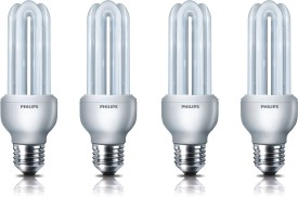 Essential E27 18 W CFL Bulb (Pack of 4)