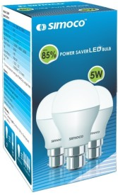 Simoco 5W B22 LED Bulb (White)