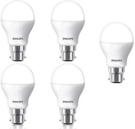 4W White LED Bulbs (Pack Of 5)