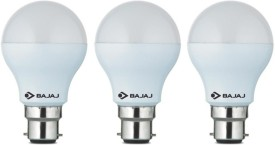 Bajaj 5 W LED CDL B22 CL Bulb White (pack of 3)