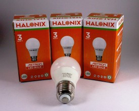 Halonix 3W White LED Bulb (Pack of 3)