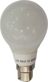 5 W LED Bulb B22 Yellow