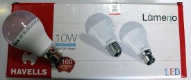 Lumeno 10W White LED Bulbs (Pack of 10)