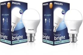 Philips 10.5 W LED Cool daylight Bulb White (pack of 2)