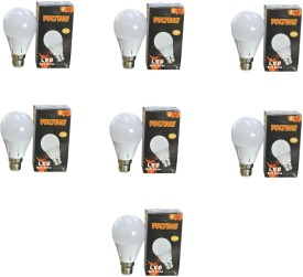 Engineerings 5 W LED Bulb B22 White (pack of 7)