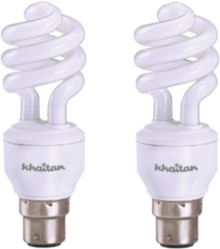 11 W Spiral CFL Leon Cool Bulb (Pack of 2)