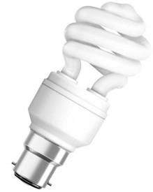 5 W CFL Mini Twister Bulb