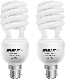 ELS 27W CFL Bulb (White, Pack of 2)