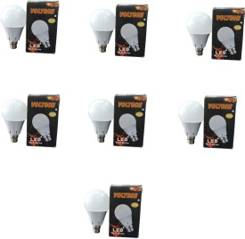 Engineerings 9W White LED Bulb (Pack of 7)