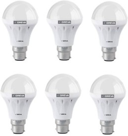 Oreva 6W White LED Lights (Pack Of 6)