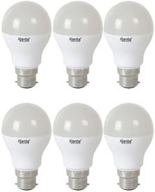 Ajanta 5W LED Bulb (White, Pack of 6)