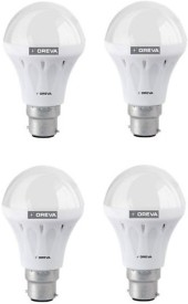 10W White LED Bulb (Pack Of 4)