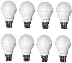 3W Cool White LED Bulb (Pack of 8)
