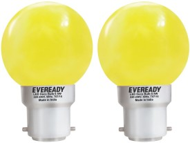 Eveready 0.5W Yellow Deco LED Bulb (Pack of 2)